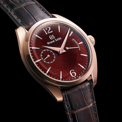 Grand Seiko Elegance Collection A new manual-winding caliber. A new slim profile :  Dress Slim.