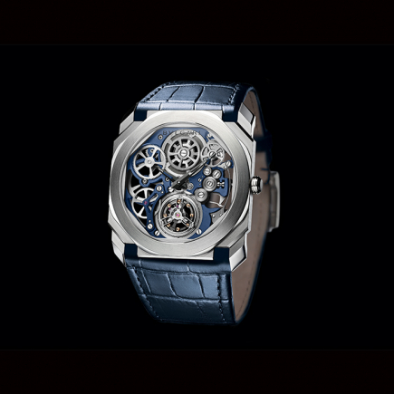 Bulgari - Bulgari Octo Finissimo Tourbillon Skeleton Platinum 103188