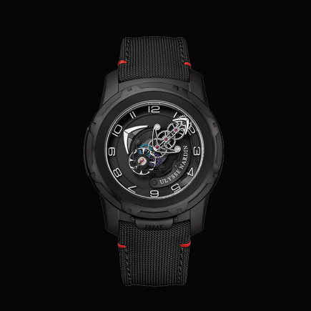 Ulysse Nardin - ULYSSE NARDIN FREAK OUT FULL BLACK  2053-132/BLACK