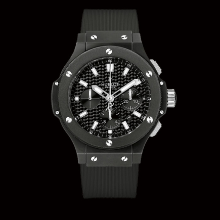 hublot - Hublot BIG BANG BLACK MAGIC chronograph 44 mm 301.CI.1770.RX