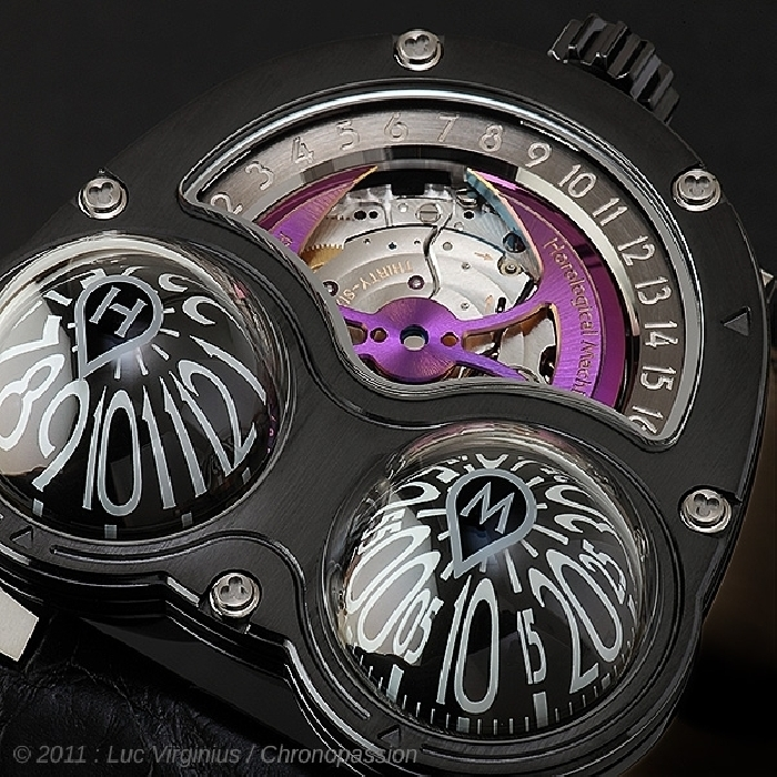 MB&F - MB1F Horological Machine No3 Frog Zr