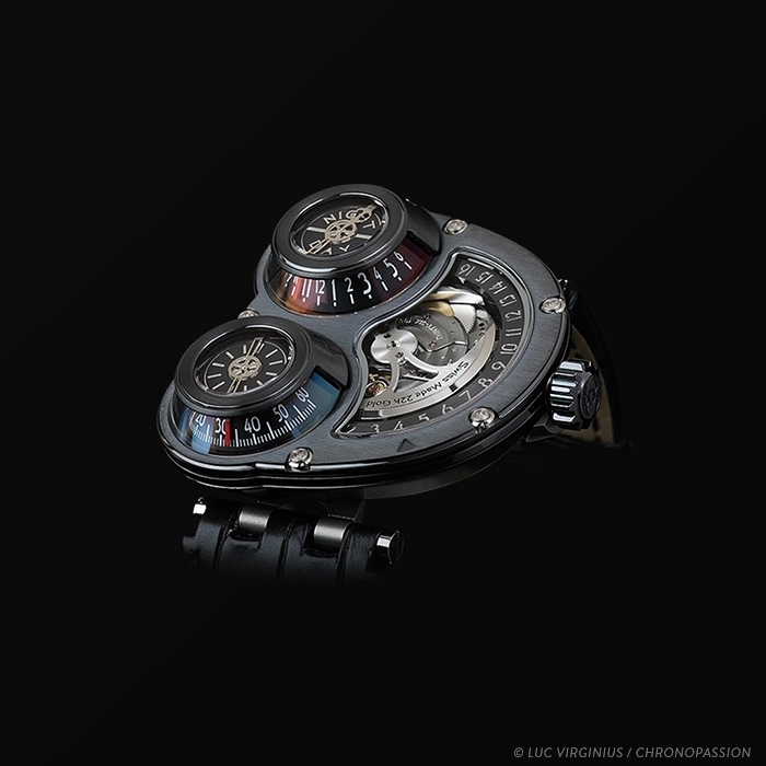 MB&F - MB&F Horological Machine No3 ReBel N°18/18