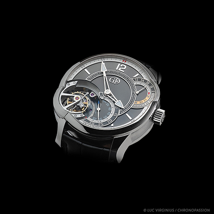 greubel forsey - Tourbillon 24 Secondes asymmetric in platinum