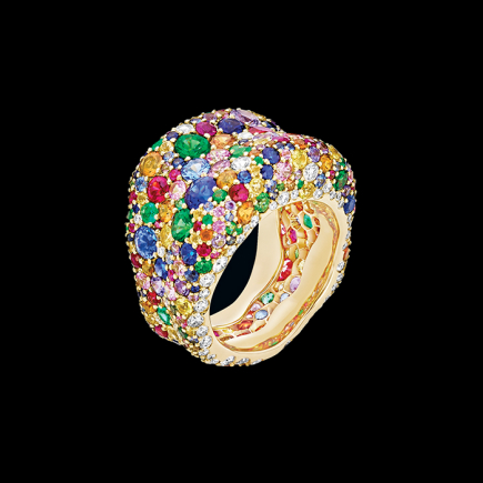 Fabergé - FABERGÉ EMOTION MULTI-COLOURED RING