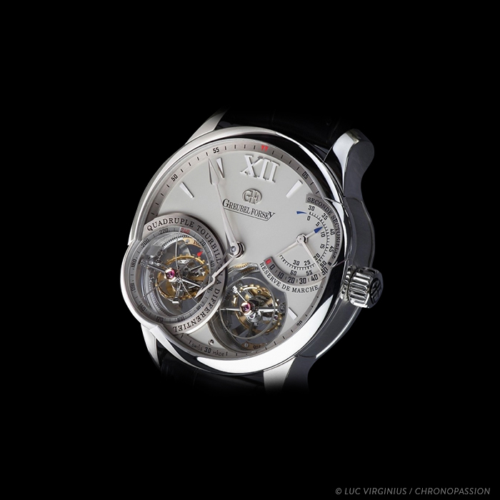 greubel forsey - Quadruple Tourbillon a Differentiel in Platinium