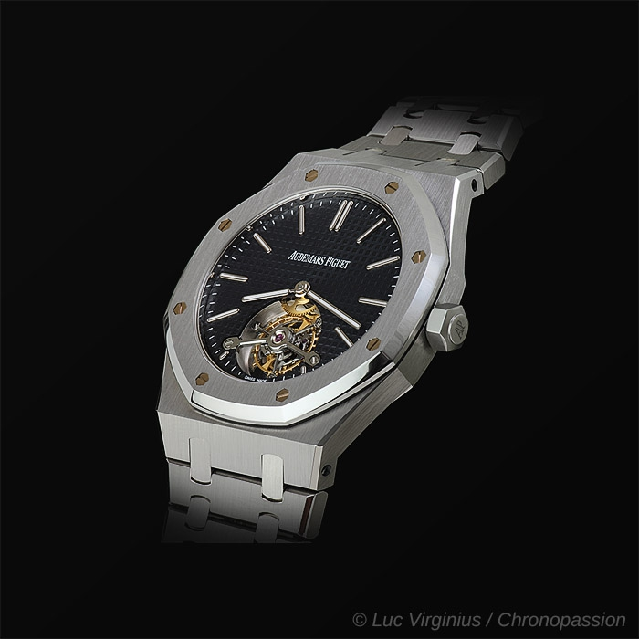 Audemars Piguet - Royal Oak , extra thin tourbillon