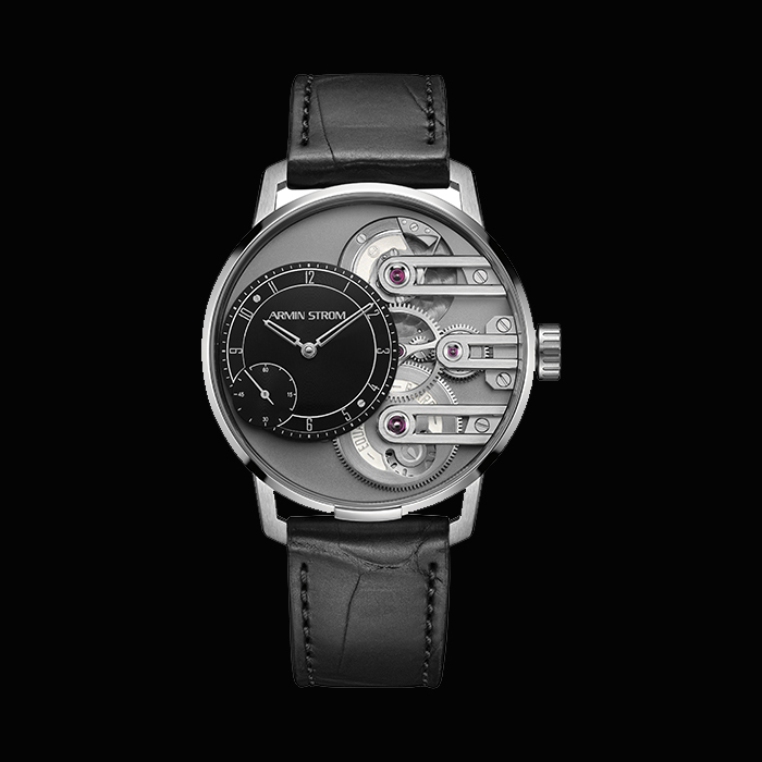 Armin Strom - ARMIN STROM Gravity Equal Force Black Dial