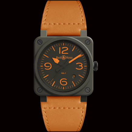 Bell & Ross - Bell & ROSS BR03-92 MA-1 : A NEW PILOT WATCH