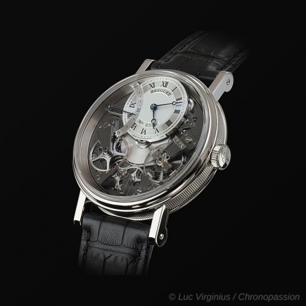 breguet - Tradition retrograde small seconds