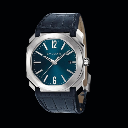Bulgari - Octo Solotempo Stainless steel