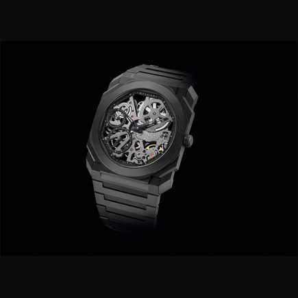Bulgari - BULGARI OCTO FINISSIMO SKELETON CERAMIC 103126