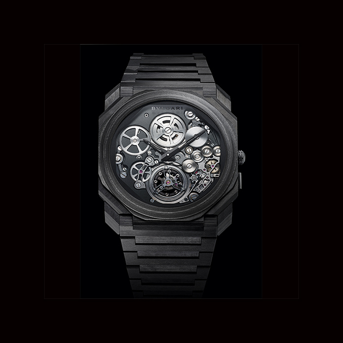 Bulgari - Bulgari Montre Octo Finissimo Carbone Tourbillon Automatic 103072