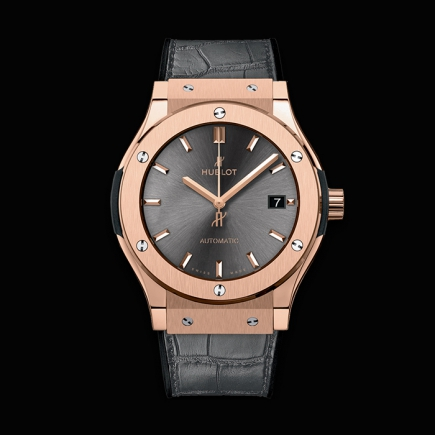 "hublot - HUBLOT CLASSIC FUSION 45MM ""RACING GREY"" KING GOLD 511.OX.7081.LR"