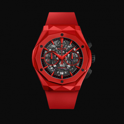 hublot - HUBLOT CLASSIC FUSION AEROFUSION CHRONOGRAPH ORLINSKI RED MAGIC 525.CF.0130.RX.ORL19