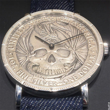 "Corum - Corum ""Hobo Coin"": Turning art on its head(s)"