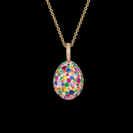 Fabergé - FABERGÈ - EMOTION MULTI COLOURED PENDANT