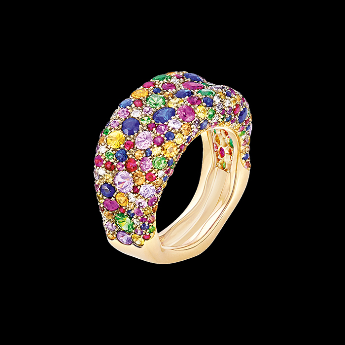 Fabergé - FABERGE - EMOTION MULTI-COLOURED  RING