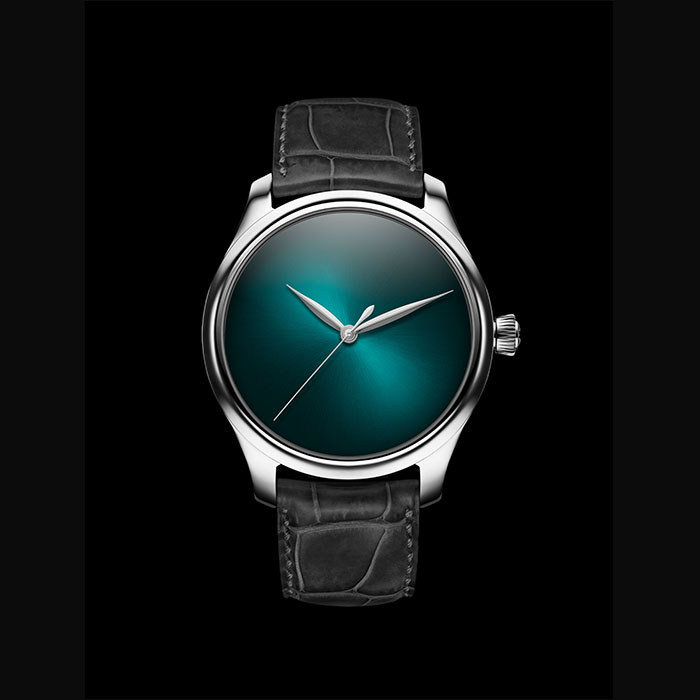 H Moser & Cie - H. MOSER & CIE, Endeavour Concept, Stainless Steel , Blue Lagoon, 1200-1213