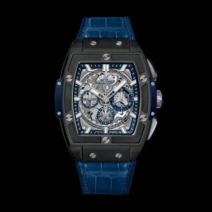 hublot - HUBLOT SPIRIT OF BIG BANG CERAMIC BLUE 641.CI.7170.LR