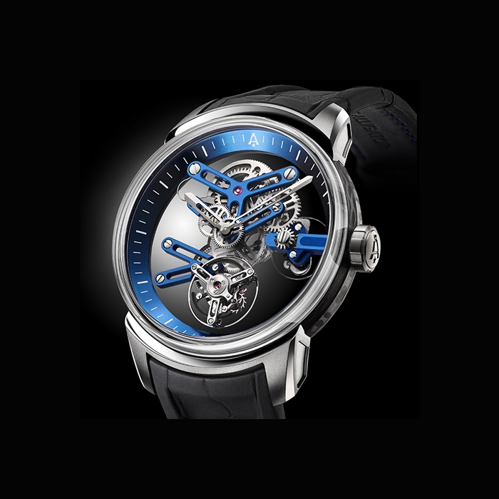 Angelus - ANGELUS U20 ULTRA SKELETON TOURBILLON