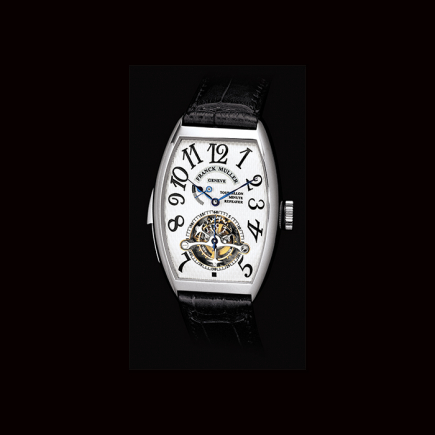 Franck Muller - Franck Muller, Tourbillon Imperial Minute Repeater Curvex Collection 5850 RM T PT