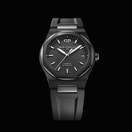 girard perregaux - LAUREATO 38MM BLACK CERAMIC