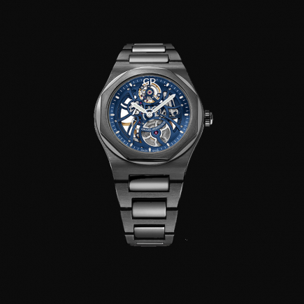 girard perregaux - GIRARD PERREGAUX Laureato Skeleton « Earth to Sky » edition 8 1015 32 432 32A