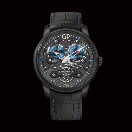 girard perregaux - Girard Perregaux  Neo Bridges Automatique Titane « Earth to Sky » 84000-21-632-BH6A