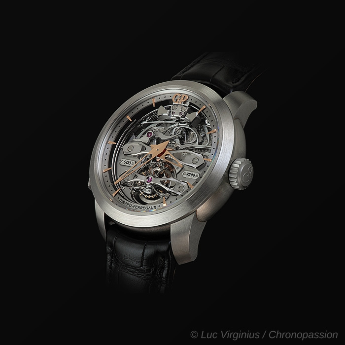 girard perregaux - Girard-Perregaux Minute Repeater Tourbillon with Titanium Bridges