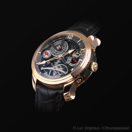 greubel forsey - Double Tourbillon Technique 30° Bi-color