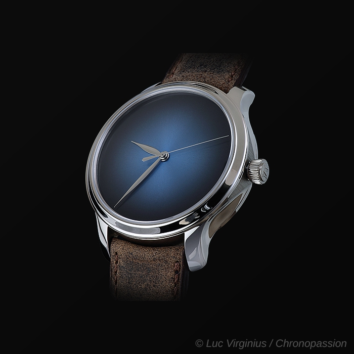 H Moser & Cie - H MOSER & CIE ENDEAVOUR CENTRE SECONDS CONCEPT  FUNKY BLUE