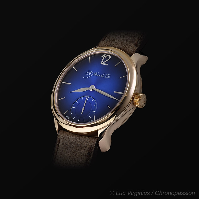 H Moser & Cie - Moser , blue unique for 2 pieces