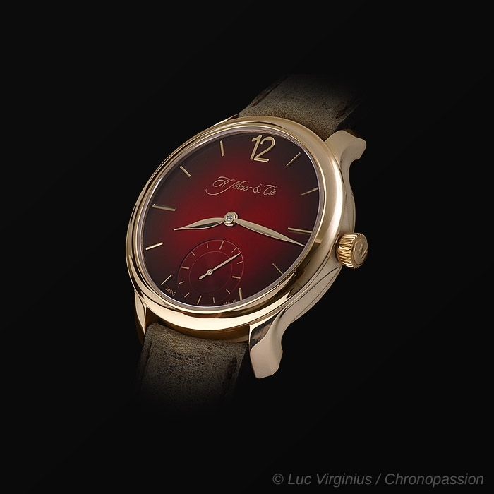 H Moser & Cie - Moser , red unique piece