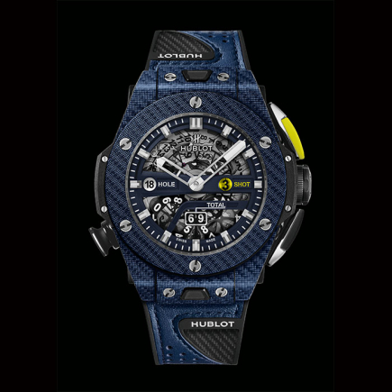hublot - HUBLOT BIG BANG UNICO GOLF blue 416.YL.5120.VR