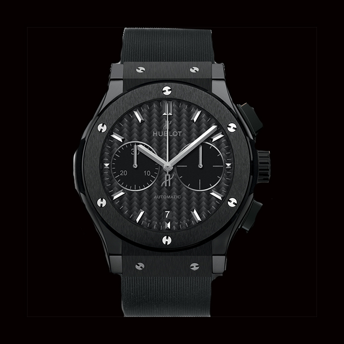 hublot - Hublot CLASSIC FUSION CHRONOGRAPH BLACK MAGIC 45 mm 521.CM.1771.RX