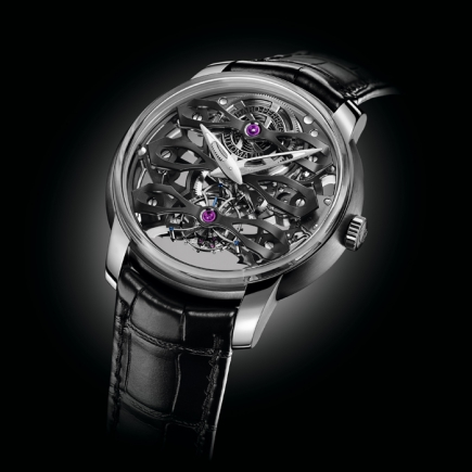 girard perregaux - The Neo Tourbillon With Three Bridges Skeleton