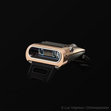 MB&F - HM5 Pink gold