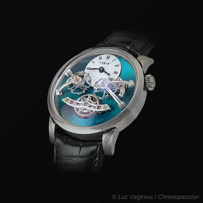 MB&F - Legacy Machine No 2 Titanium