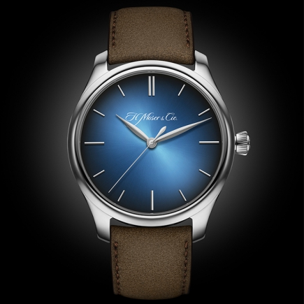 H Moser & Cie - H.MOSER ENDEAVOUR CENTER SECONDS BLUE 1200-0201