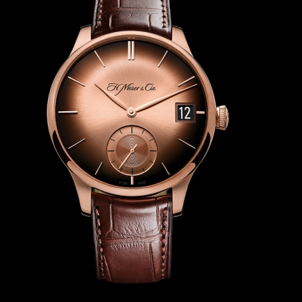 H Moser & Cie - VENTURER BIG DATE RED GOLD FUMÉ