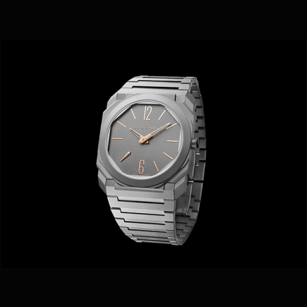 Bulgari - Bulgari OCTO FINISSIMO AUTOMATIC INDEX HANDS ROSE GOLD 103137