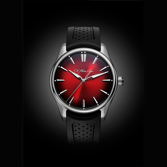 H Moser & Cie - Pioneer Centre Seconds Swiss Mad Red  3200-1207