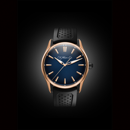 H Moser & Cie - H.Moser & Cie 3200-0903 PIONEER CENTRE SECONDS , Pink Gold