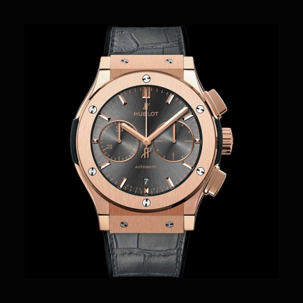"hublot - HUBLOT CLASSIC FUSION CHRONOGRAPH 45MM ""RACING GREY"" KING GOLD 521.OX.7081.LR"