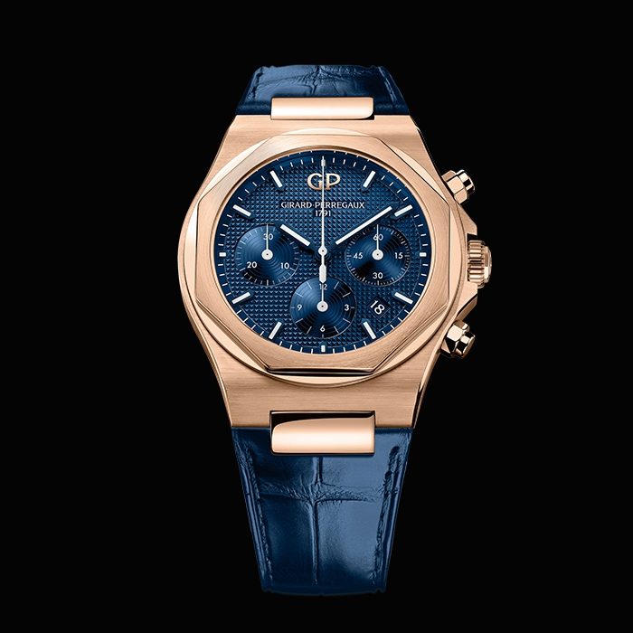girard perregaux - LAUREATO CHRONOGRAPH 42MM PINK GOLD 81020-52-432-BB4A