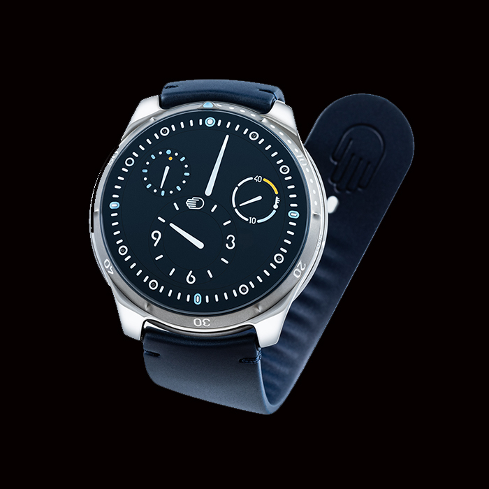 Ressence - Ressence Type 5N (Navy blue)