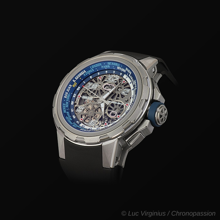 richard mille - RM 63-02 WORLD TIMER AUTOMATIC WATCH
