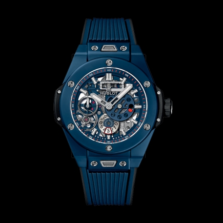 hublot - HUBLOT BIG BANG MECA-10 BLUE CERAMIC 414.EX.5123.RX