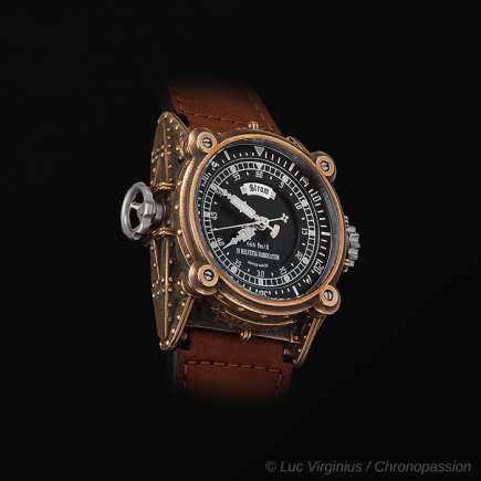 STROM -  STROM AGONIUM - NETHUNS II DIVING WATCH BRONZE