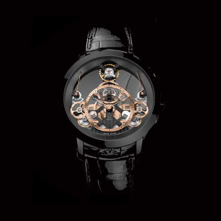 Arnold & Son - Arnold & Son Time Pyramid (Black Edition) 1TPBS.R01A.
